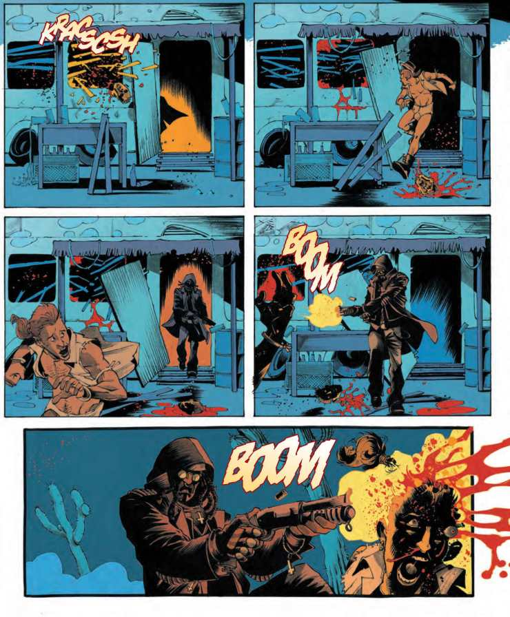 Sons of Anarchy: Redwood Original #2 Review