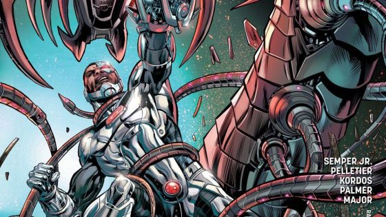 Cyborg's Rebirth has been an exemplary breath of fresh air for the character. The story thread of a father interacting with a son he isn't even sure is human anymore has created plenty of conflict and inner turmoil.