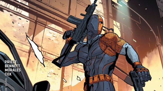 It's the moment we've all been waiting for...Deathstroke is coming to Gotham! Last issue ended with the reveal that he's on his way and this issue follows his journey there, but is it good?