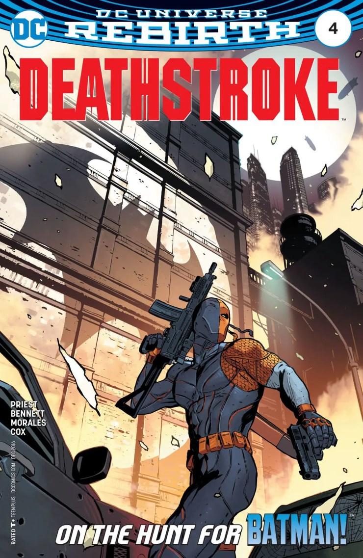 Deathstroke #4 Review