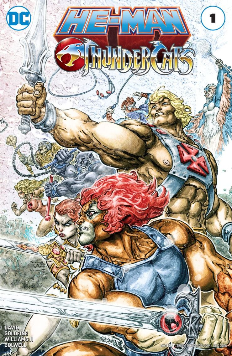 He-Man/Thundercats #1 Review