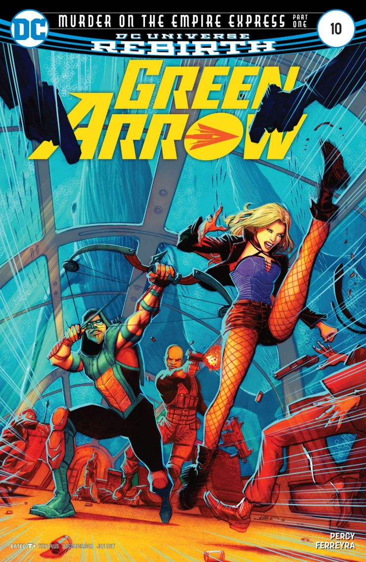 Green Arrow #10 Review