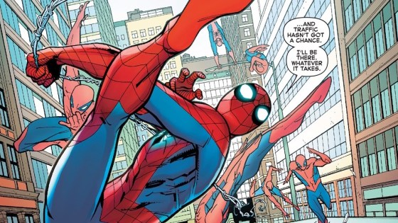 So often superheroes save people, beat the villain, and generally do good, but how often do you honestly feel like they are heroic? Spider-Man is different. There are so many memorable moments where Spider-Man literally puts it all on his back to save those who can't save themselves. Spoiler alert, a similar moment happens in this issue, but is it good?