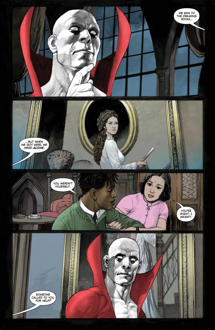 Deadman: Dark Mansion of Forbidden Love #1 Review