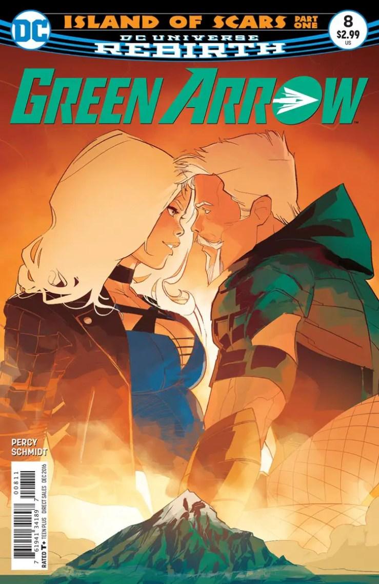Green Arrow #8 Review