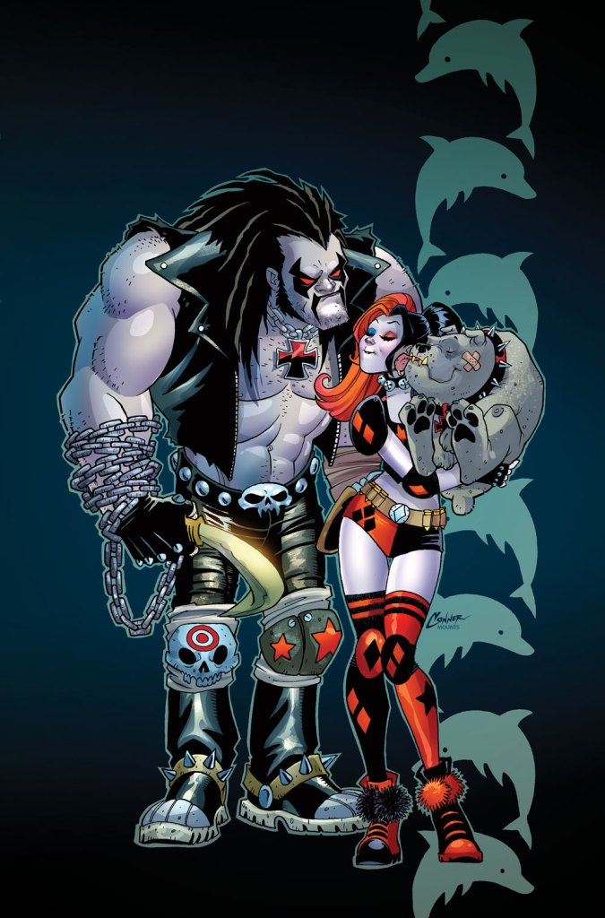 Harley and Lobo team up in Harley's Little Black Book #6 out November 30th.