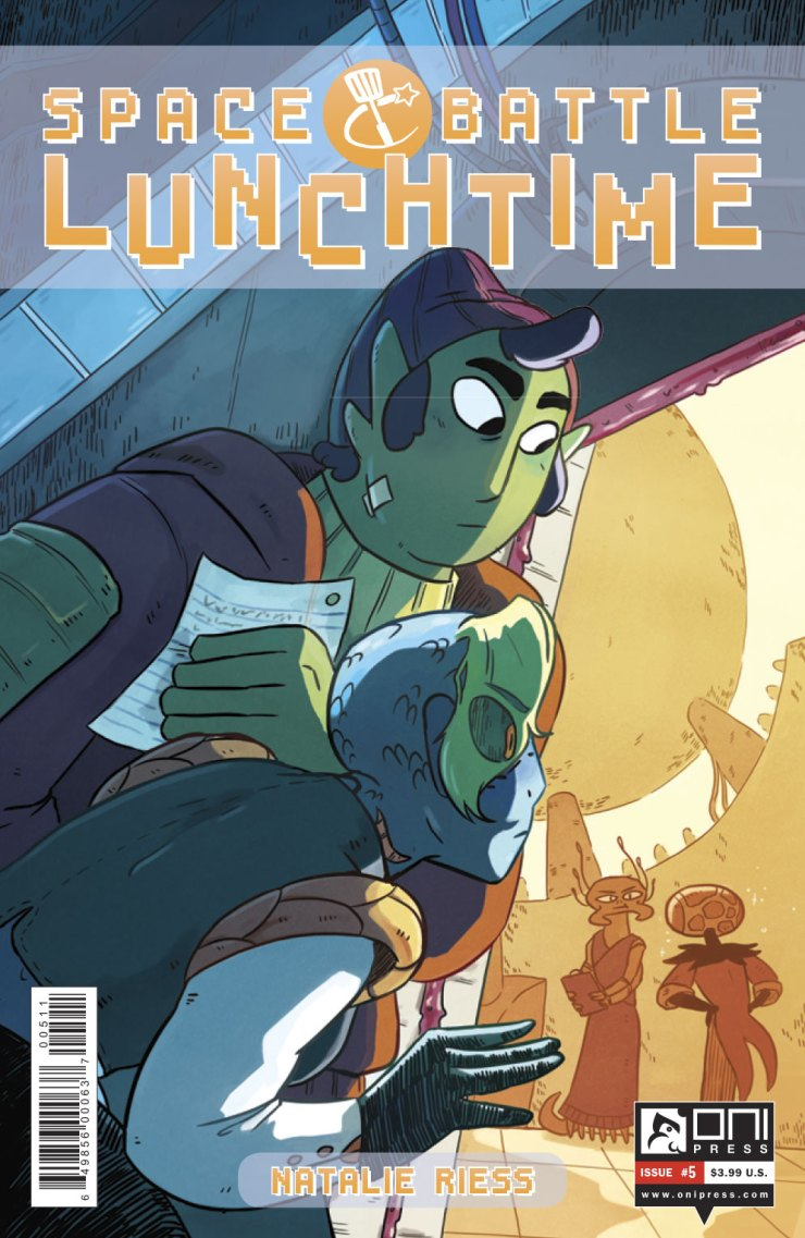 Space Battle Lunchtime #5 Review