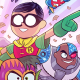 Boy, did I love the last issue of Teen Titans Go!. This series is all kinds of fun for all ages. It's like Shrek (one of the good ones that is) as it mixes in silly humor for the kids, but more subtle or high brow humor for the parents.