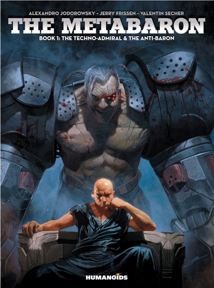 If you're not familiar with The Metabarons, newcomers should know that it is an epic space opera with a robust science fiction mythology. The series first appeared in 1981 and continued all the way through 2003 off and on. It's back, but is it as good as the previous volumes, and can it be enjoyed going in blind?