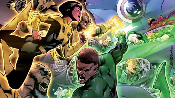 There's been a big shakeup for Hal Jordan and it was bad timing considering the Green Lantern Corps finally made it back to our universe. With Hal MIA and the Yellow Lanterns changing their ways what's the worst that can happen? Starro, that's who! Is it good?
