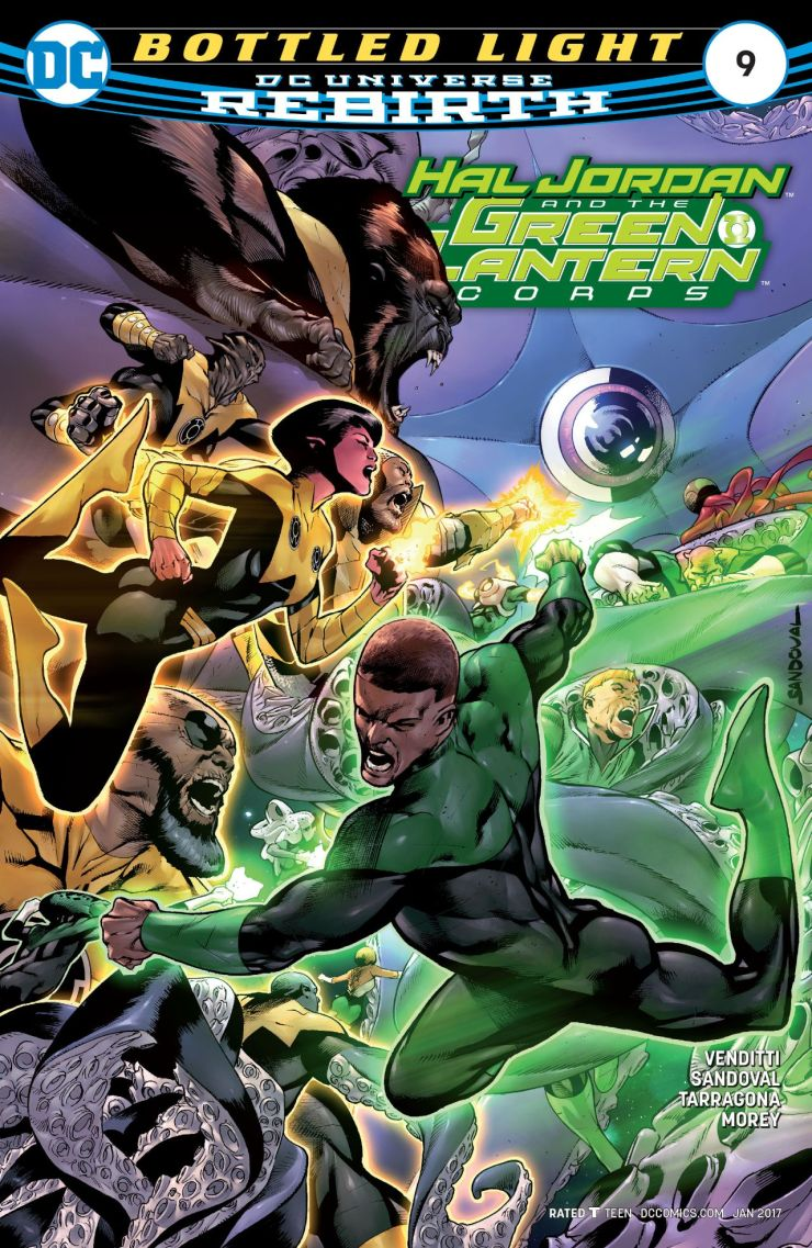 Hal Jordan and the Green Lantern Corps #9 Review