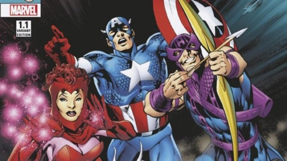 Given it's just days after election day here in the U.S., this comic book feels quite poignant. Whether you voted one way or the other, half of this country was worried the wrong person would be put into power. The same goes for this issue, with a flashback sort of story that deals with a new Avengers lineup. Is it good?