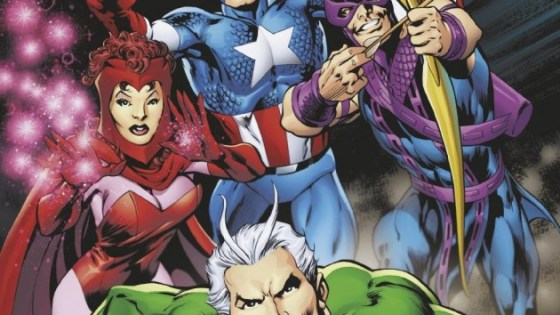 'Avengers: Four' is a look back at the first dramatic change of guard in Avengers history