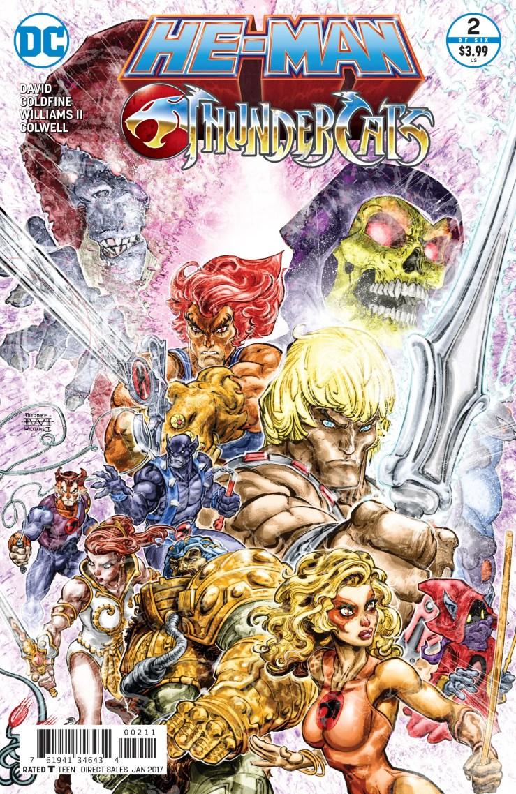 He-Man/ThunderCats #2 Review