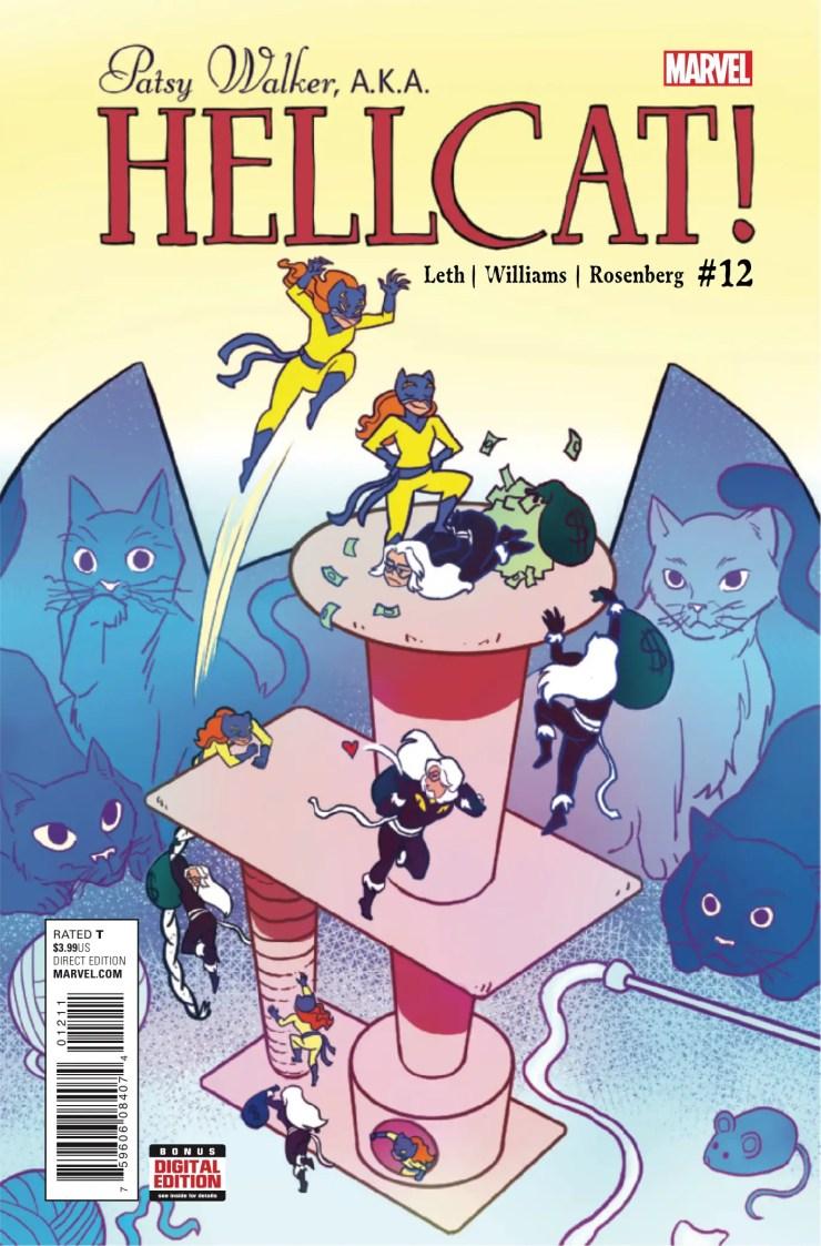 Patsy Walker, A.K.A. Hellcat! #12 Review