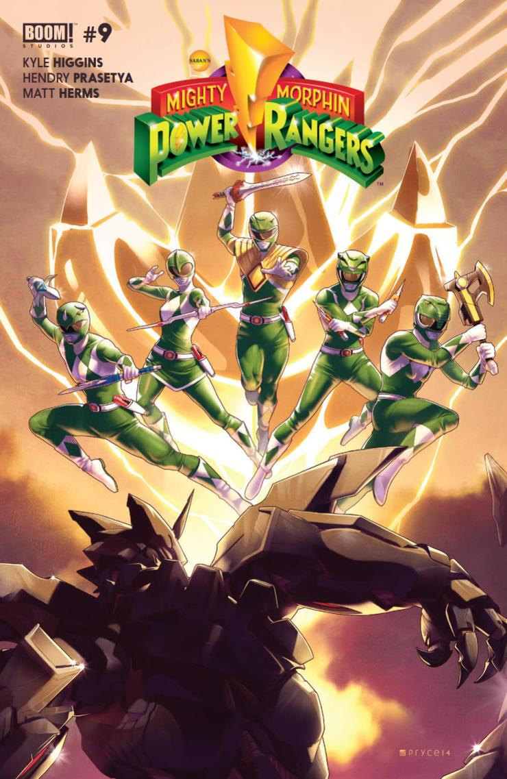 Mighty Morphin Power Rangers #9 Review