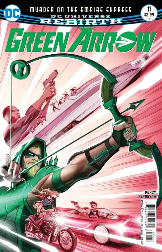 Green Arrow #11 Review