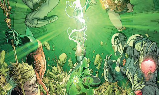 More often than not, Justice League is a title that aims to bring you big action and good teamwork. Character work isn't quite as necessary because the title requires all of the might of the heroes to stop the threat at hand. This is the second issue in an arc that's no different. Is it good?