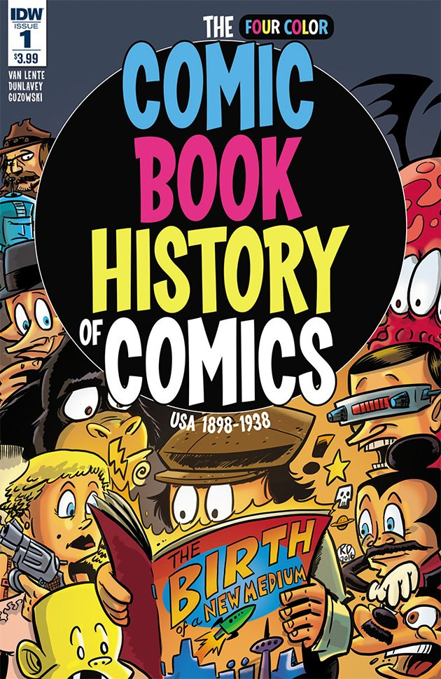 Comic Book History of Comics #1 Review