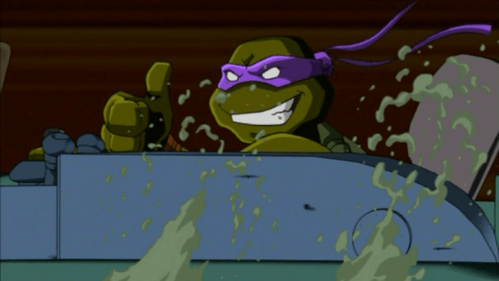 The 4Kids Teenage Mutant Ninja Turtles cartoon from 2003 isn't just good, it's *really* good.  But… But HOW?  It was produced by 4Kids!  Do you KNOW what kind of reputation they had?  4Kids was like the reverse King Midas; everything they touched turned to SHIT.  And yet somehow the company most famous for dubbing anime about elementary schoolers who fight with trading cards, and for doing it BADLY, managed to bring us what's often considered the best animated incarnation of the Ninja Turtles ever made.