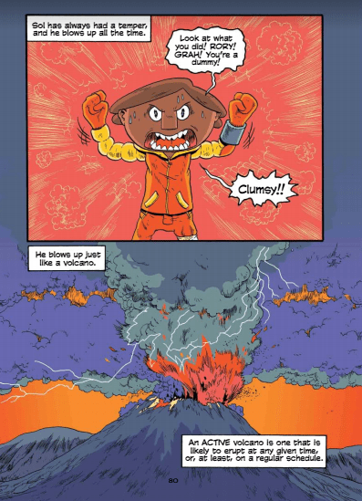 """First Second's """"Science Comics"""" Blasts Back with """"Volcanoes"""""""