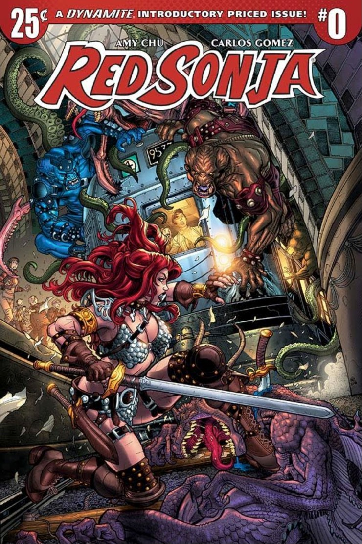 Red Sonja #0 Review