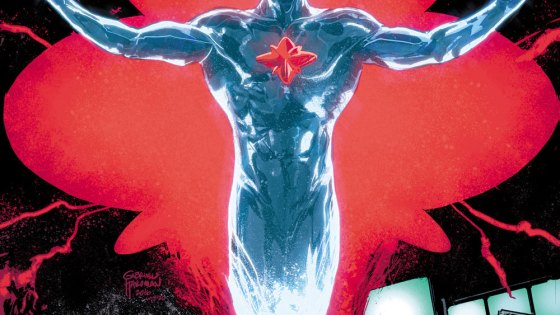 DC Preview: The Fall and Rise of Captain Atom #1