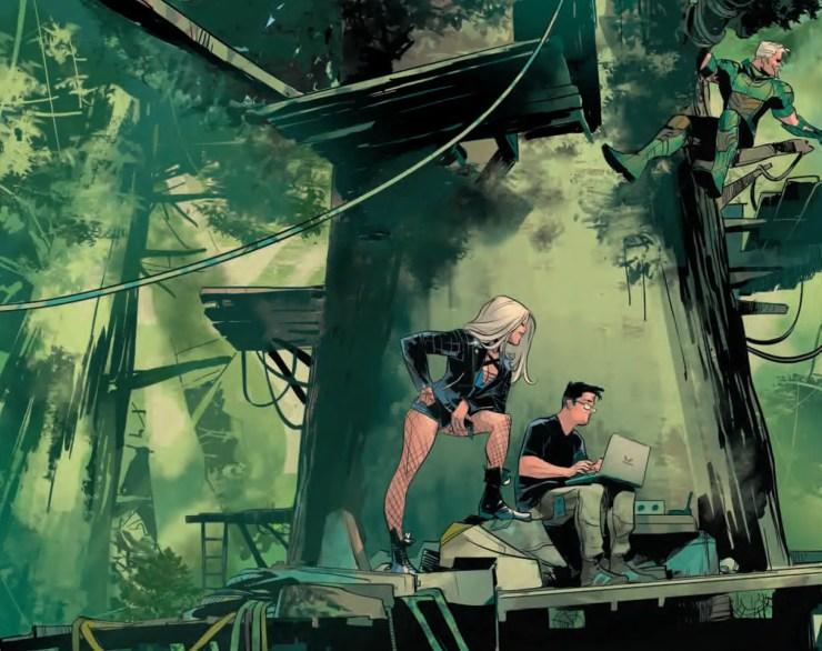 Green Arrow #12 Review