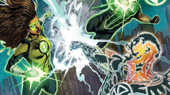 Green Lanterns has been one of the strongest examples of superheroes delivering character development that rivals any indie comic out there. The writing keys so well into the characters' inner selves you'll feel like you know them. Enter a villain who is controlled by his emotions and you get interesting character work on both sides. We review today's issue; is it good?