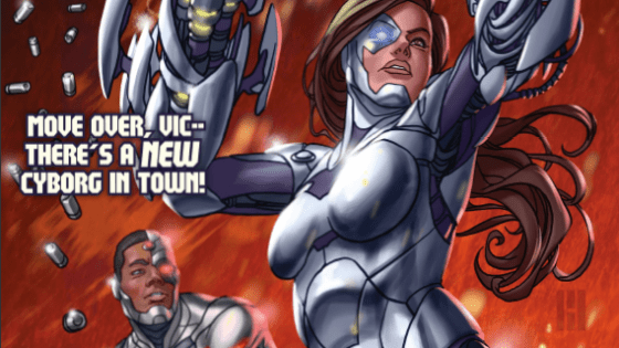 Creating a female version of heroes is all the rage in comics these days -- and now Cyborg gets its very own Lady Cyborg. She became super powered last issue, but will she be worthy of our attention? Is it good?