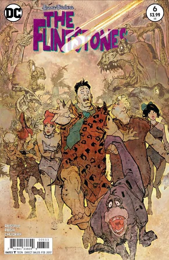 The Flintstones #6 Review