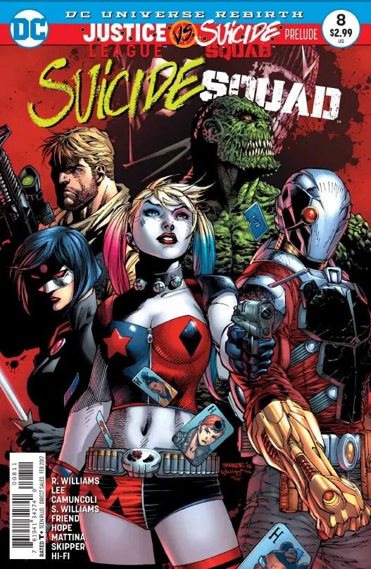 Suicide Squad #8 Review