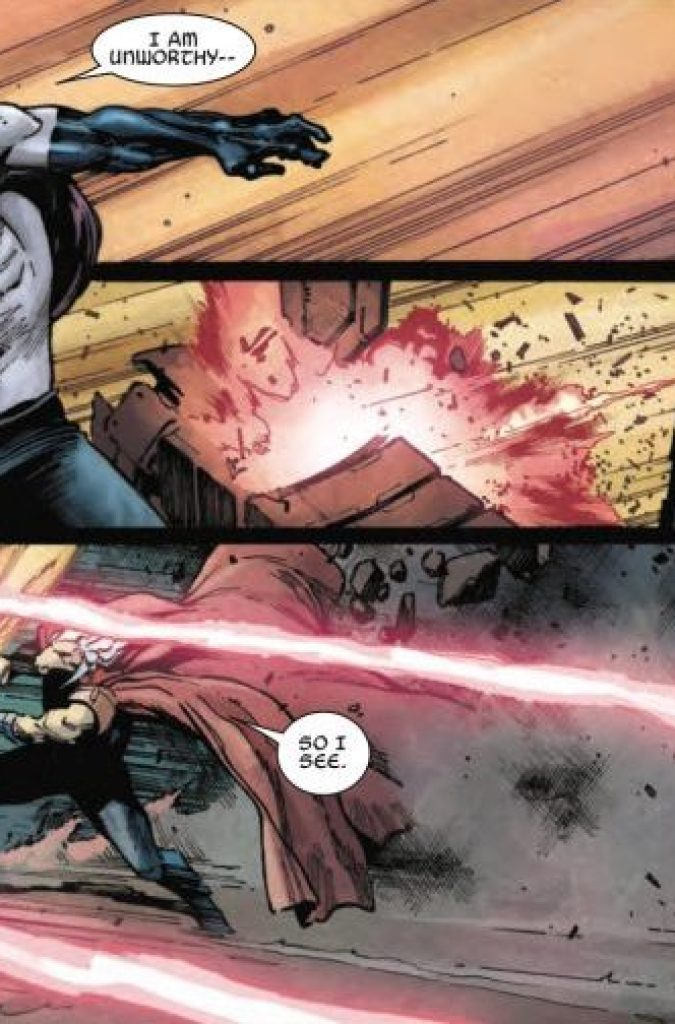 The Unworthy Thor #2 Review