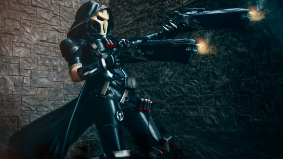 Overwatch: Female Reaper Cosplay by Bloodraven