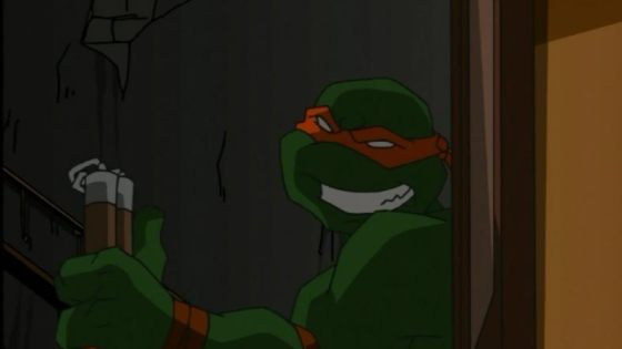 Well, we're gonna have to get through some chaff before we get to the wheat in this batch of episodes from the 2003 Teenage Mutant Ninja Turtles cartoon.  But that's okay, because while the first three episodes in this article are some of the most boring, the last three episodes are some of the best Mirage comics adaptations this cartoon ever accomplished.