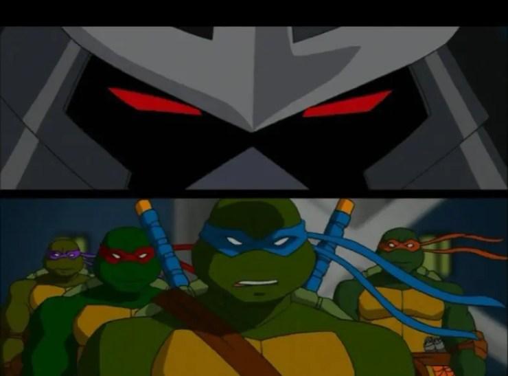 tmnt-season-1-shredder-turtles-staredown
