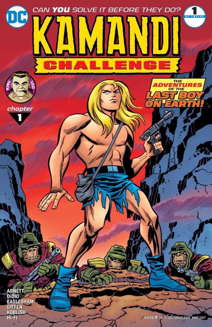 The Kamandi Challenge #1 Review
