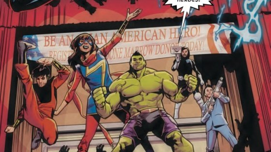 Hulk gets a team up of sorts as he hangs out with Ms. Marvel, Silk, Shang-Chi, Jake Oh, and Jimmy Woo. What can their mission entail? Is said mission good?