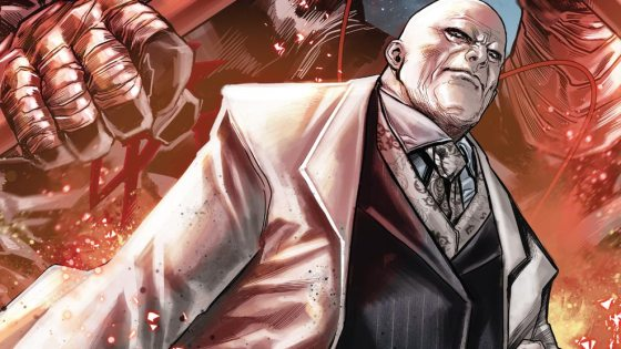 They say that every villain is the hero of their own story. Yes, Wilson Fisk has done some bad things. Deplorable things. He has cheated the law. He has blackmailed rivals. He has killed. But that's all in the past now. It's time for a new beginning. And it begins this February in KINGPIN #1 – the new ongoing series from breakout writer Matthew Rosenberg and Marvel newcomer Ben Torres!