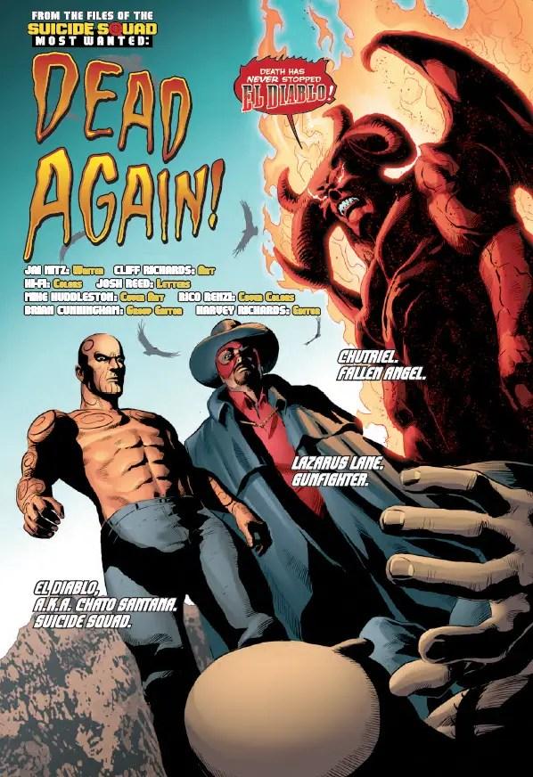 Suicide Squad Most Wanted: El Diablo and Amanda Waller #6 Review