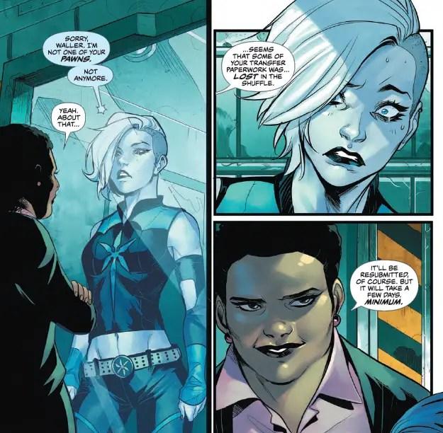 Justice League of America: Killer Frost Rebirth #1