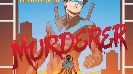 The first story arc set in Blüdhaven ends this week, but is it good?