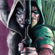 An old friend, Emi, who tried to kill Green Arrow only a few months ago, is back and... ready to help him out?!  More importantly a killer cop is on the loose and Ollie is still considered a criminal! We explore the pages of Green Arrow #16 to answer the question, is it good?