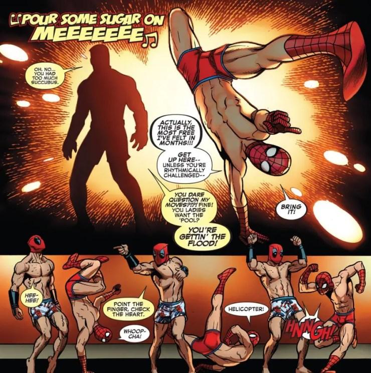 spider-man-deadpool-4-dance-off