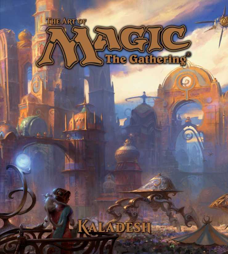 The beauty of Magic the Gathering is how so many characters, creatures, races, places, and abilities can meld so cleanly into one world. I genuinely loved last year's art book book focused on Zendikar as it built up a vivid world that seemed perfectly realized and couldn't wait to see how Kaladesh meshed everything together. I had my chance, and here are my thoughts.