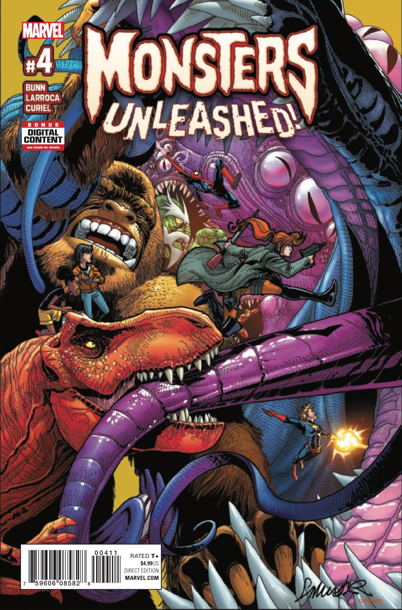 Monsters Unleashed #4 Review