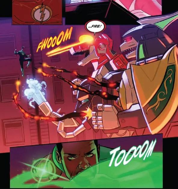 Justice League/Power Rangers #2 Review