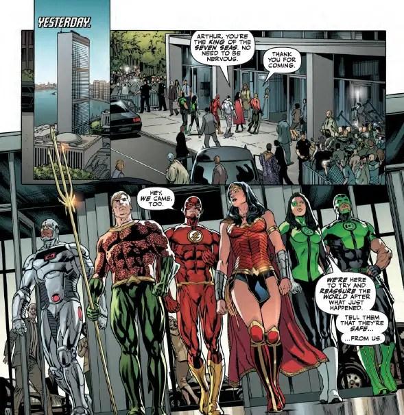 Justice League #15 Review