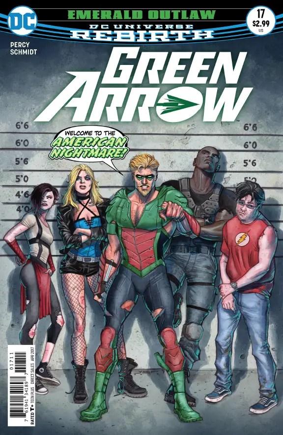 Green Arrow #17 Review