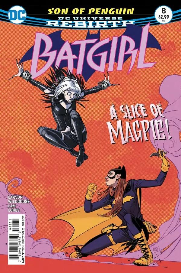Batgirl #8 Review